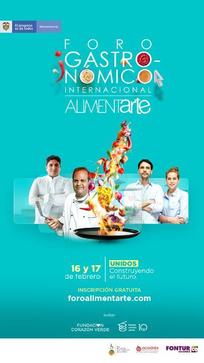 profesionalhoreca, cartel VI Foro Gastronómico Internacional Alimentarte