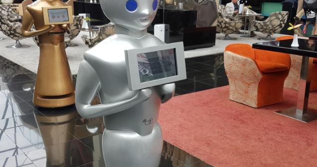 Profesionalhoreca, robot en un hotel