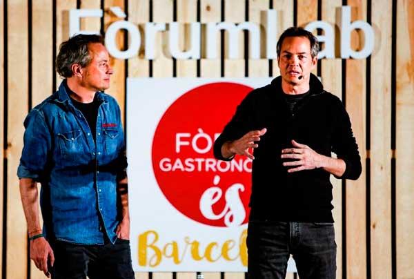 Profesionalhoreca, los hermanos Torres, en su ponencia del pasado Fórum Gastronómico Barcelona