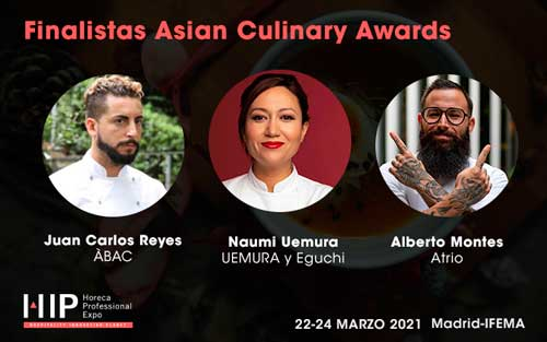 Profesionalhoreca, finalistas de los V Asian Culinary Awards