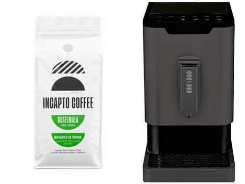 Profesionalhoreca, café y máquina de Incapto Coffee
