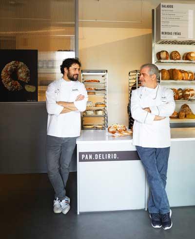 Profesionalhoreca, los dos Javier Cocheteux, hijo y padre, artífices de Pan.Delirio
