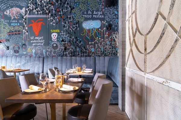 Profesionalhoreca, la sala del restaurante Zoko Valdemarín