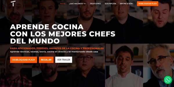profesionalhoreca, Escuela de Cocina onñine TalentClass
