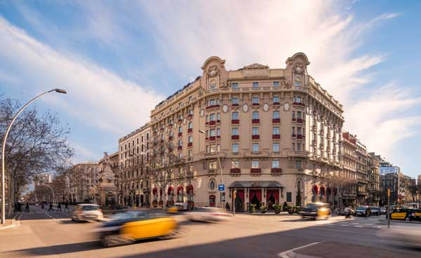 Profesionalhoreca, fachada del hotel Palace Barcelona