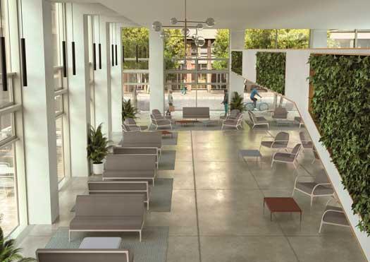 Profesionalhoreca, bancos y sillones de la colección Xaloc, de Möwee