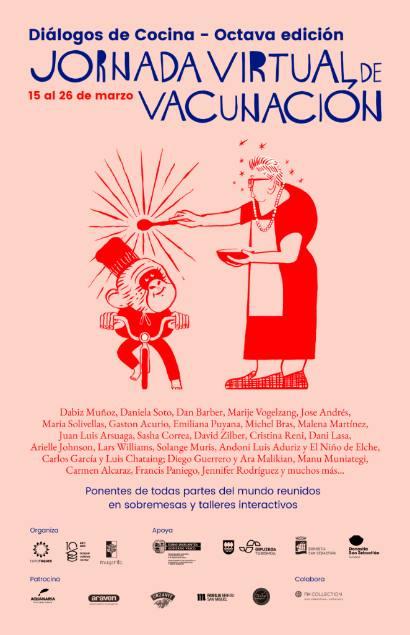 Profesionalhoerca, cartel de Diálogos de Cocina