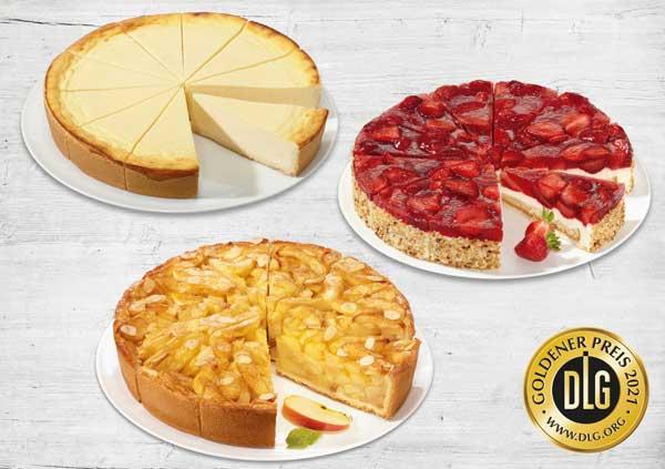 Profesionalhoreca, las tartas de Erlenbacher premiadas por la DLG en 2021