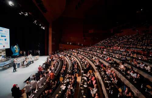 Profesionalhoreca, auditorio del congreso San Sebastián Gastronomika en el Kursaal