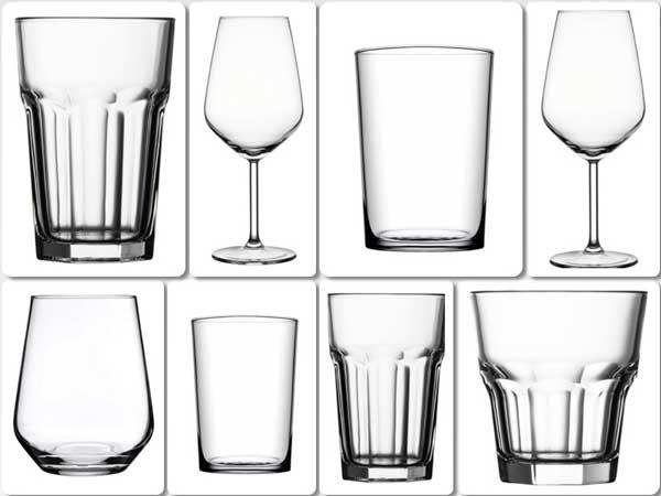 Profesionalhoreca, copas y vasos de la cristalería antimicrobiana Paşabahçe V-Block