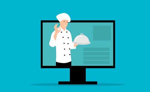 Profesionalhoreca, chef en pantalla de ordenador