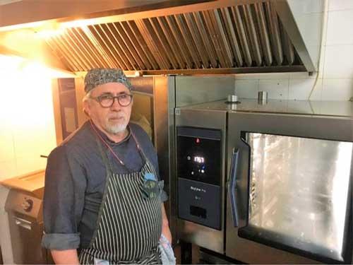 Profesionalhoreca, horno Skyline Pro de Electrolux Professional en el restaurante La Salamanquilla