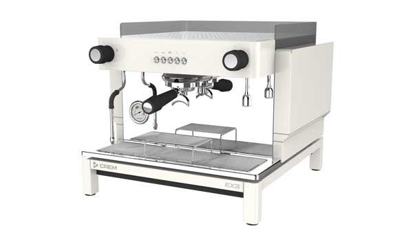 Profesionalhoreca, máquina de café compacta EX3 de Crem, un grupo