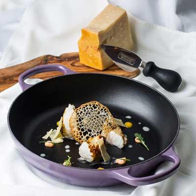 Profesionalhoreca, la sugerente receta de restaurante Palio hecha con Parmigiano Reggiano
