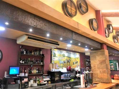 Profesionalhoreca, barra del restaurante La salamanquilla