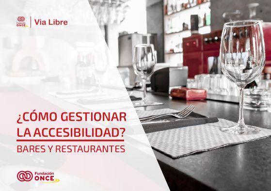Profesionalhoreca, portada de la guía sobre cómo gestionar la accesibilidad en bares y restaurantes