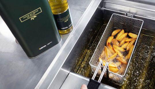 Profesionalhoreca, fritura con aceite de orujo de oliva