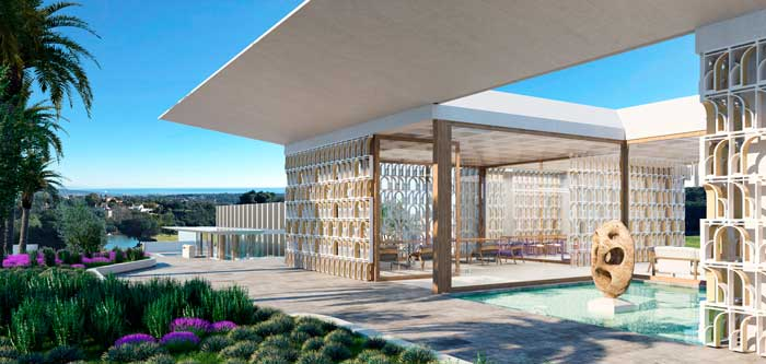 Profesionalhoreca, terraza exterior del resort So/ Sotogrande