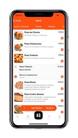 Profesionalhoreca, app de restaurante, por Banzzu