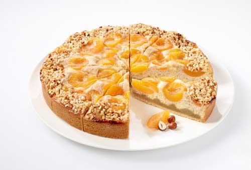 Profesionalhoreca, tarta de albaricoque vegana, de Erlenbacher