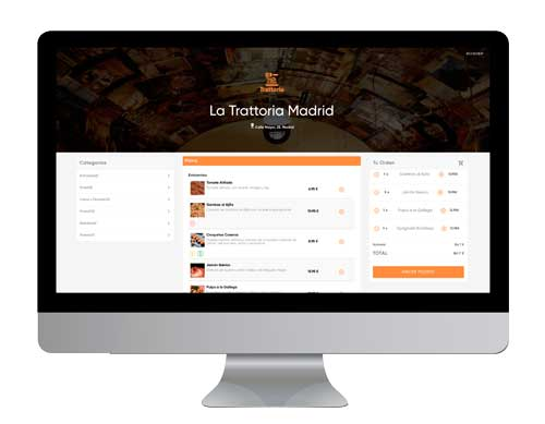 Profesionalhoreca, web de restaurante de Banzzu