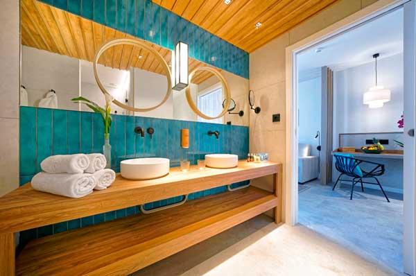 Profesionalhoreca, baño de habitación del resort Labranda Suites Costa Adeje