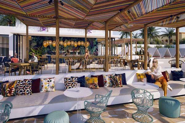 Profesionalhoreca, bar de la piscina del resort So/ Sotogrande