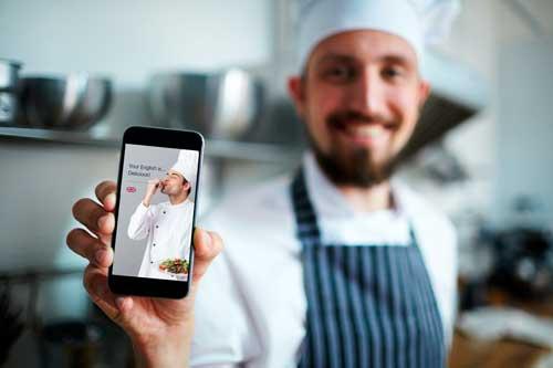 Profesionalhoreca, curso de Inglés para chefs