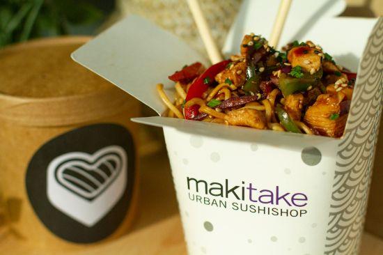 ProfesionalHoreca, comida para llevar de Makitake