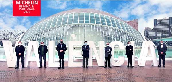Profesionalhoreca, presentación de la gala de la Guía Michelin 2021 en Valencia