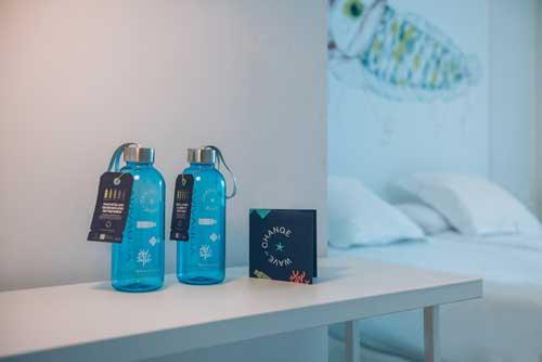 Profesionalhoreca, botellas rellenables de agua en hotel Iberostar
