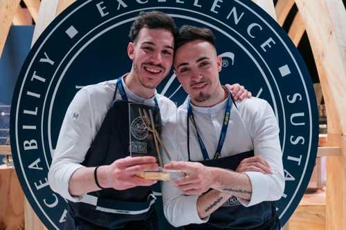 Profesionalhoreca, los jóvenes chefs de Cañitas Maite, Cocineros Revelación 2021