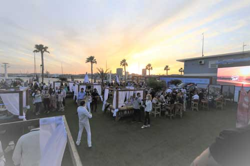 Profsionalhoreca, terraza del complejp Ocean en el Puerto de Alicante