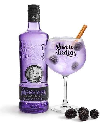 Profesionalhoreca, ginebra Puerto de Indias Blackberry