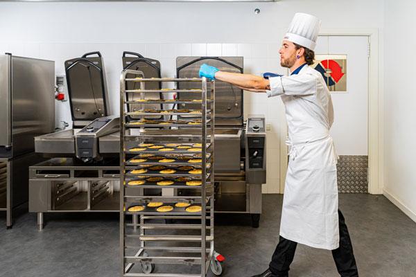 Profesionalhoreca, tortilla hechas en un horno iCombi de Rational