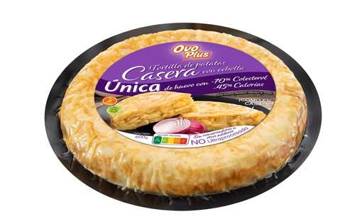 Profesionalhoreca, tortilla de patata Ovoplus envasada al vacío