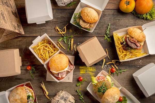 Profesionalhoreca, envases de hamburguesas de la gama ThePack, de García de Pou
