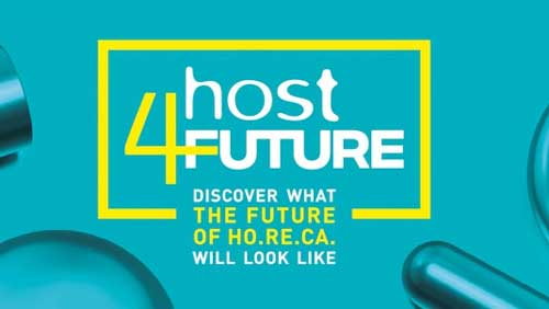 Profesionalhoreca, logo de los webinars Host4Future de la feria Host