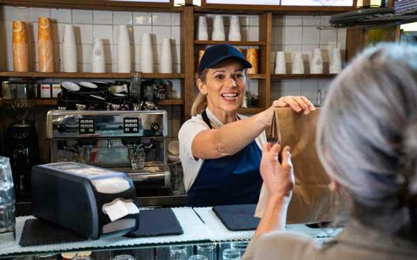 Profesionalhoreca, dispensador de servilletas Tork Xpressnap Fit para barra