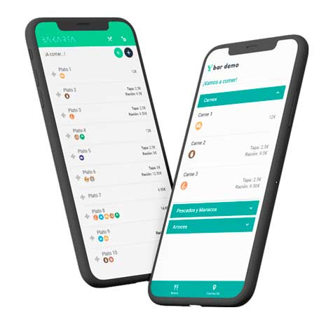 Profesionalhoreca, app de Bakarta
