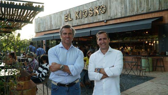 ProfesionalHoreca, Roberto de la Cuerda, CEO y fundador de El Kiosko, y Daniel Sala, consejero delegado de Dihme