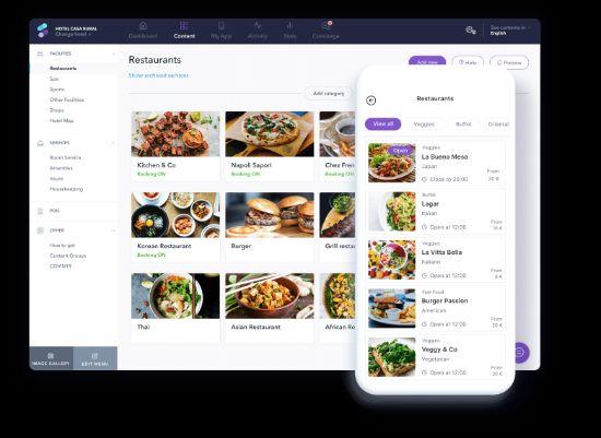 Profesional Horeca , web y app de Stay