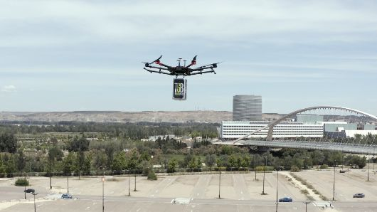 ProfesionalHoreca drones Restalia prueba el reparto a domicilio con drones