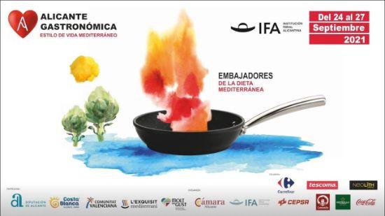 Profesionalhoreca, cartel de Alicante Gastronómica 2021.