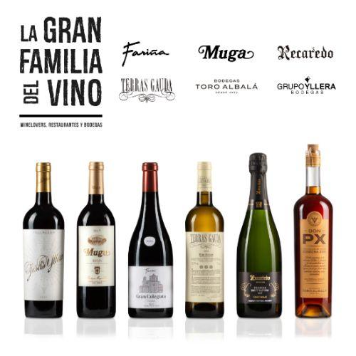 ProfesionalHoreca, pack de vinos de La Gran Familia del Vino