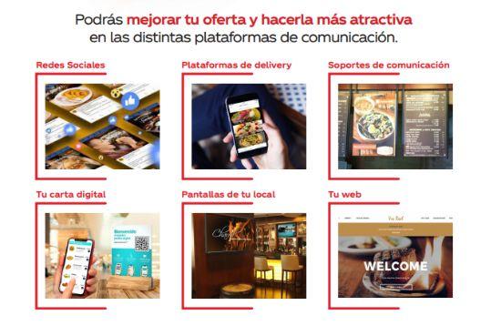 Profesional Horeca Plan de apoyo a la digitalización para la hostelería