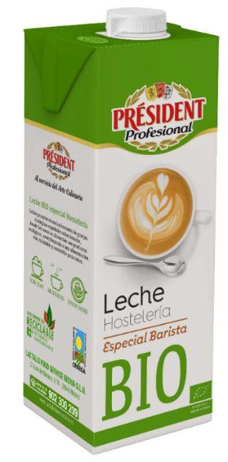 ProfesionalHoreca Leche BIO Hostelería especial barista Président Profesional