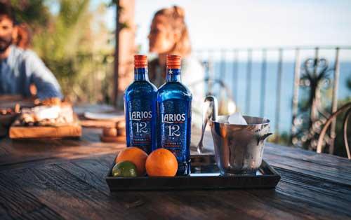 Profesionalhoreca, botellas de Gin Larios