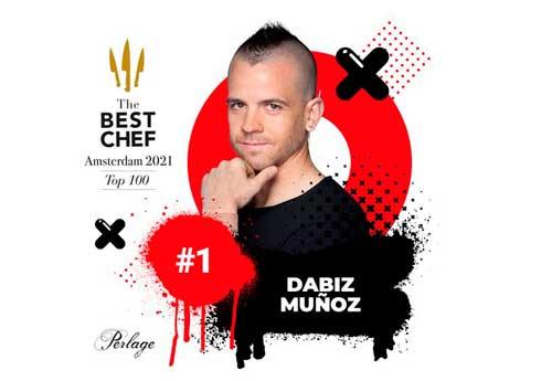 Profesionalhoreca, Dabiz Muñoz encabeza la lista 2021 de The Best Chef