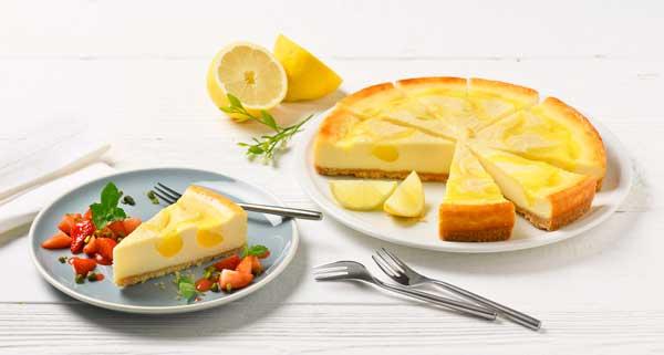 Profesionalhoreca,Tarta de queso con limón de Erlenbacher